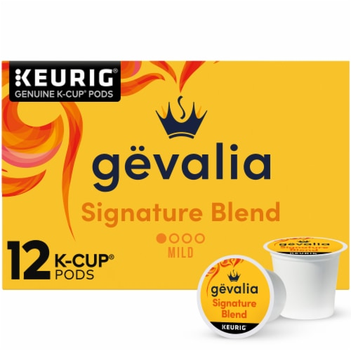 Gevalia Signature Blend Mild Roast Coffee K-Cup Pods Perspective: front