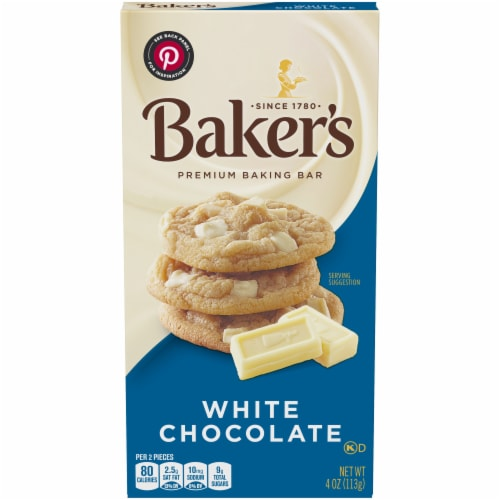 Baker's Premium White Chocolate Baking Bar Perspective: front