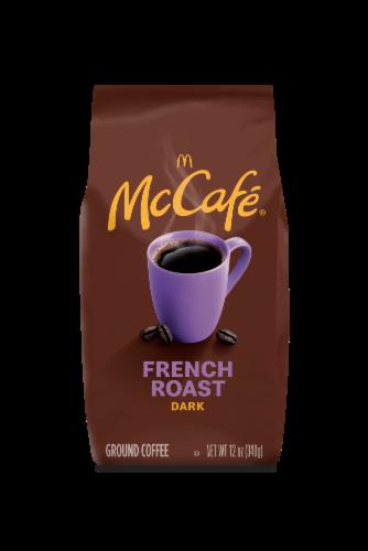 McCafé Dark French Roast Ground Coffee Perspective: front