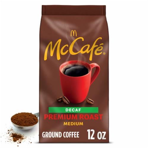 McCafe Decaf Premium Medium Roast Ground Coffee Perspective: front
