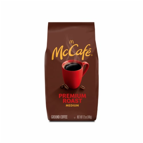 McCafe Premium Roast Medium Ground Coffee Perspective: front