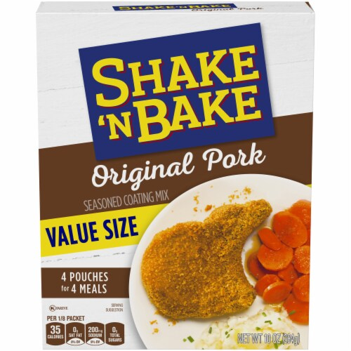 Shake 'N Bake Original Pork Seasoned Coating Mix Perspective: front