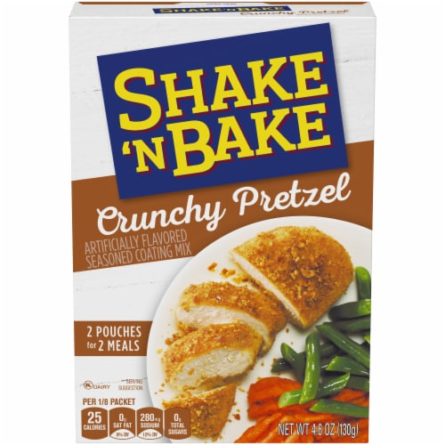 Shake 'N Bake Crunchy Pretzel Coating Mix Perspective: front