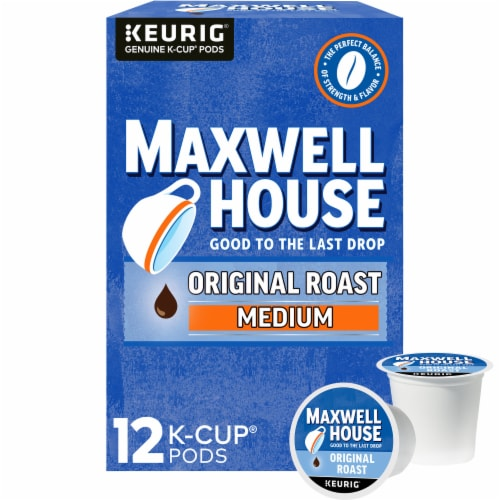 Maxwell House Original Medium Roast Coffee K-Cup Pods Perspective: front