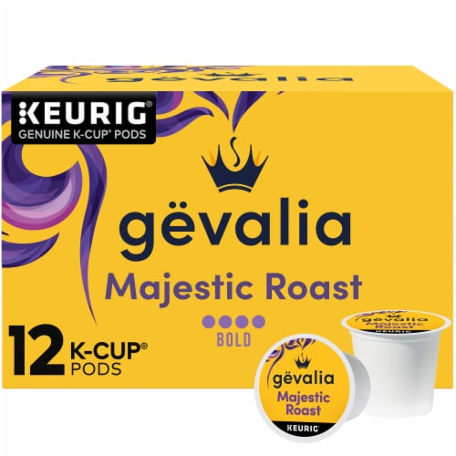 Gevalia Majestic Roast K-Cup Coffee Pods Perspective: front