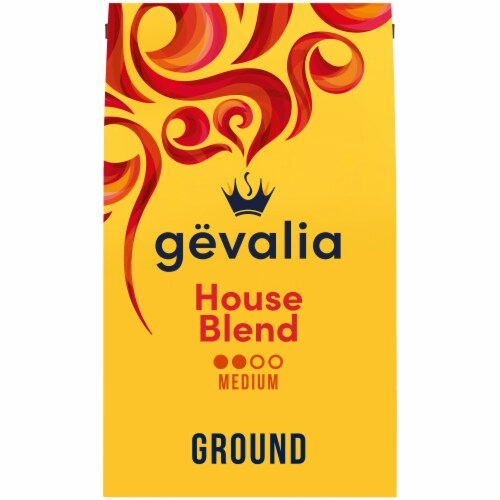 Gevalia House Blend Medium Roast Ground Coffee Perspective: front