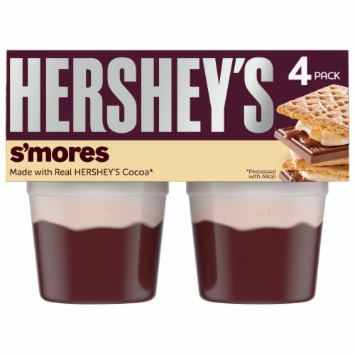 Hershey's S'mores Pudding Cups Perspective: front