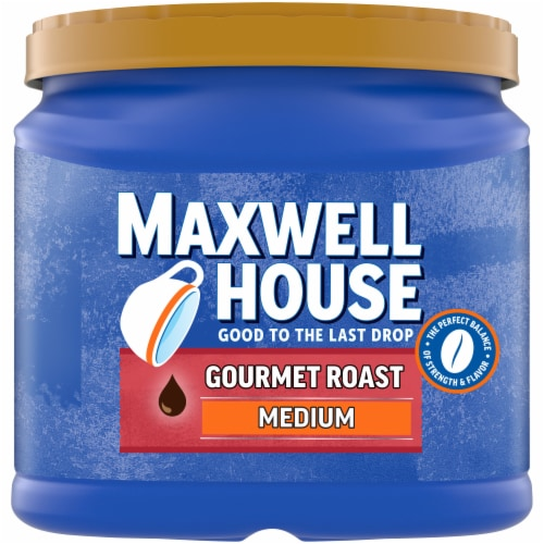 Maxwell House Gourmet Medium Roast Ground Coffee Perspective: front