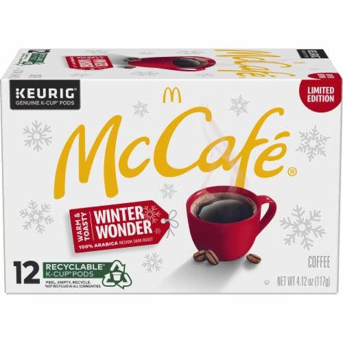 McCafe Winter Wonder Medium Dark Coffee K-Cup Pods Perspective: front