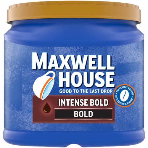Maxwell House Intense Bold Roast Ground Coffee Perspective: front