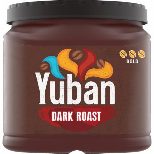 Yuban Dark Roast Ground Coffee Perspective: front