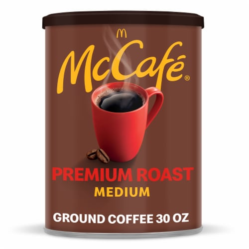McCafe Premium Medium Roast Ground Coffee Perspective: front