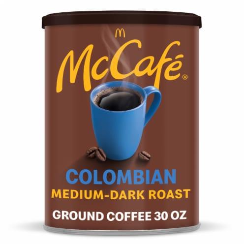 McCafé Colombian Medium Dark Roast Ground Coffee Perspective: front
