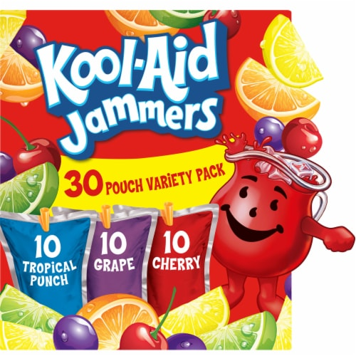 Kool-Aid Jammers Variety Pack Perspective: front
