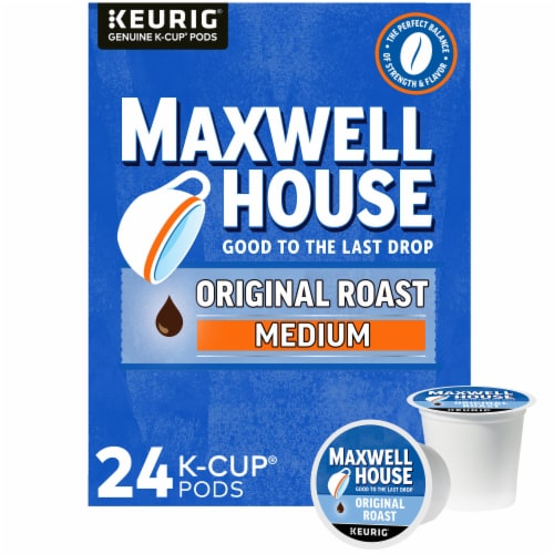 Maxwell House Original Roast Coffee K-Cup Pods Perspective: front