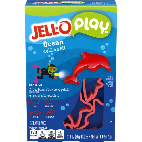Jell-O Play Ocean Cutters Kit Perspective: front