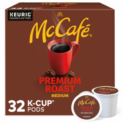 McCafe Premium Roast Medium Coffee K-Cup Pods Value Pack Perspective: front