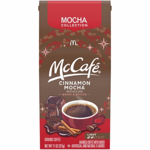McCafe Cinnamon Mocha Light Roast Ground Coffee Perspective: front
