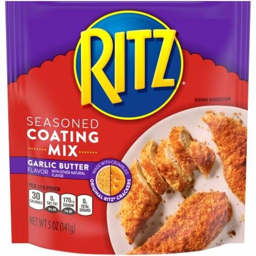 Ritz Garlic Butter Seasoned Coating Mix Perspective: front