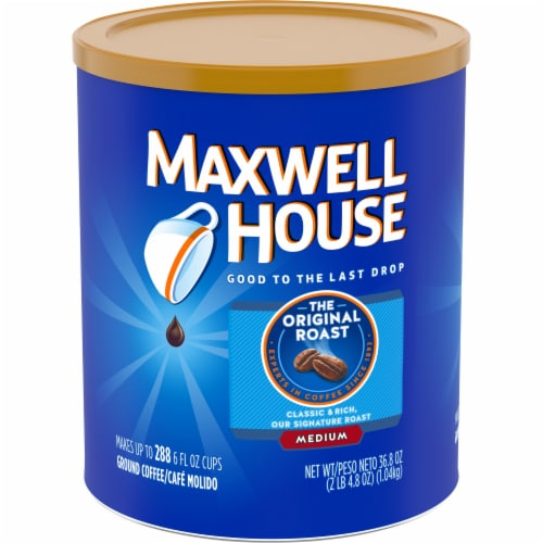 Maxwell House The Original Roast Medium Ground Coffee Perspective: front