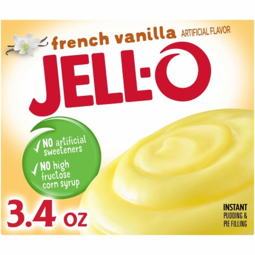 Jell-O French Vanilla Instant Pudding & Pie Filling Perspective: front