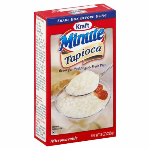Minute Tapioca Pudding, 8 Ounce -- 12 Case Perspective: front