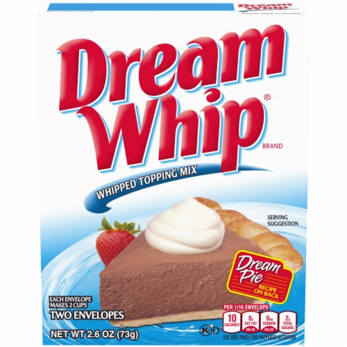 Dream Whip Whipped Topping Mix Perspective: front