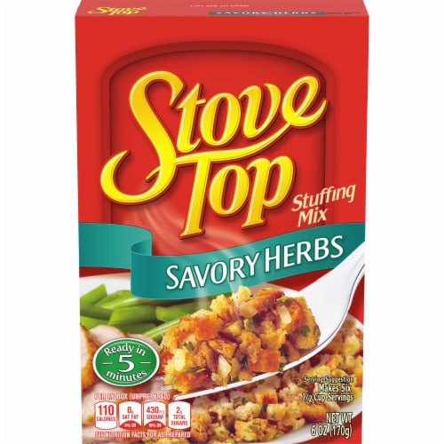 Stove Top Savory Herbs Stuffing Mix Perspective: front