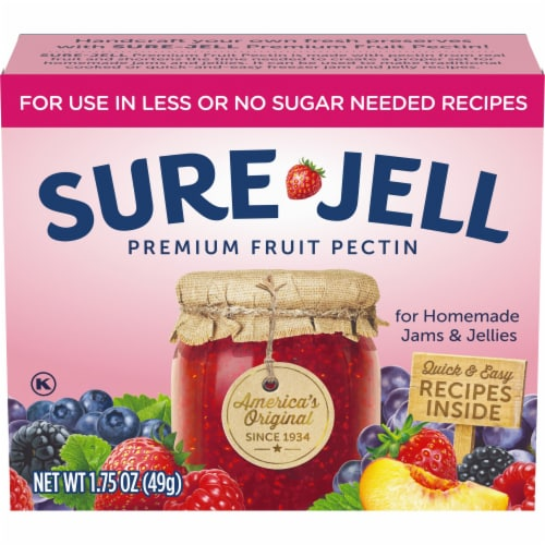 Sure-Jell No Sugar Added Premium Fruit Pectin Perspective: front
