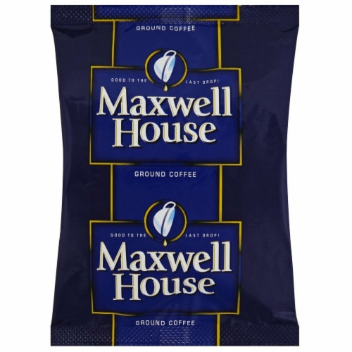 Maxwell House Ground Coffee - 1.5 oz. pack, 42 packs per case Perspective: front