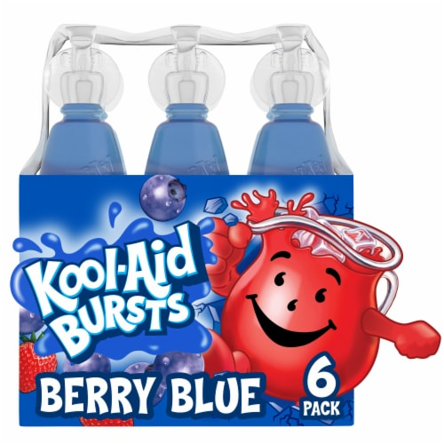 Kool-Aid Bursts Berry Blue Drink Perspective: front