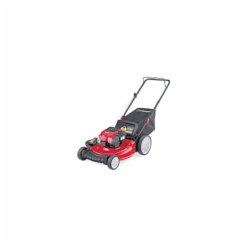Troy-Bilt 11A-B2BM766 21 in. 3-N-1 High Wheel Push Lawn Mower Perspective: front
