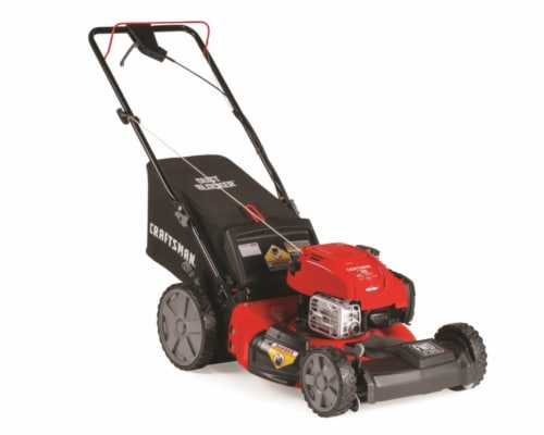Craftsman 21 in. W 163 cc Self-Propelled Mulching Capability Lawn Mower 12AVB2R3791 Perspective: front