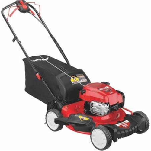 Troy-Bilt 263587 21 in. 3-in-1 Propelled Lawn Mower Perspective: front