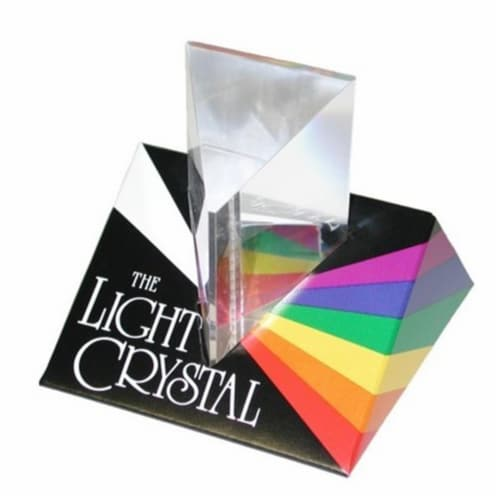 Constructive Playthings 00010 Light Crystal Prism Perspective: front