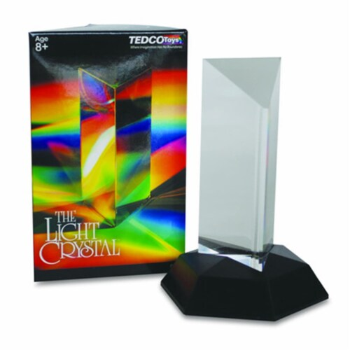 Tedco Toys 00011 Light Crystal Prism - 4.5 In. Perspective: front