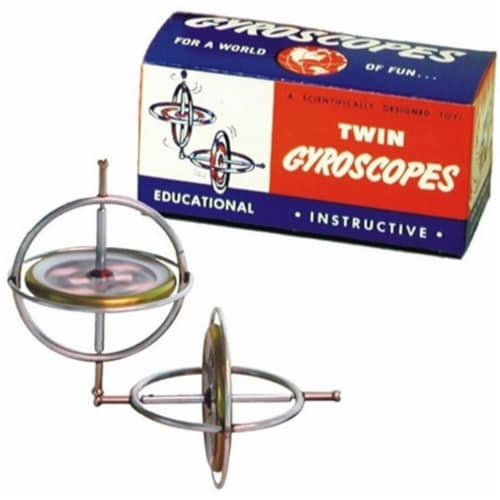 Tedco Toys 00066 Twin Gyroscope Perspective: front