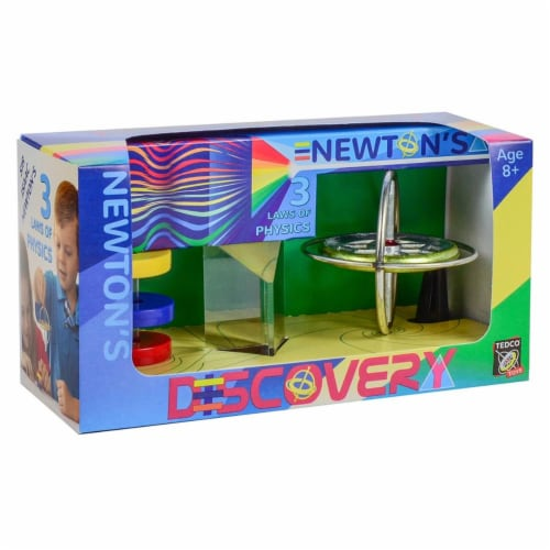 Tedco Toys 01200 Discovery Gyroscope - Prism, Magnets Perspective: front