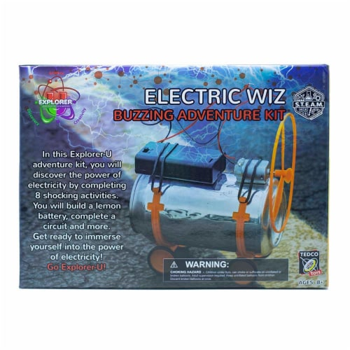 Explorer-U Electric Wiz Perspective: front