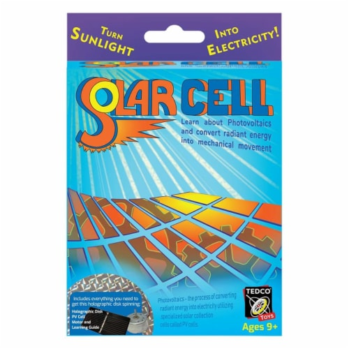 Tedco Toys 80004 Solar Cell Science Fun Kit Perspective: front
