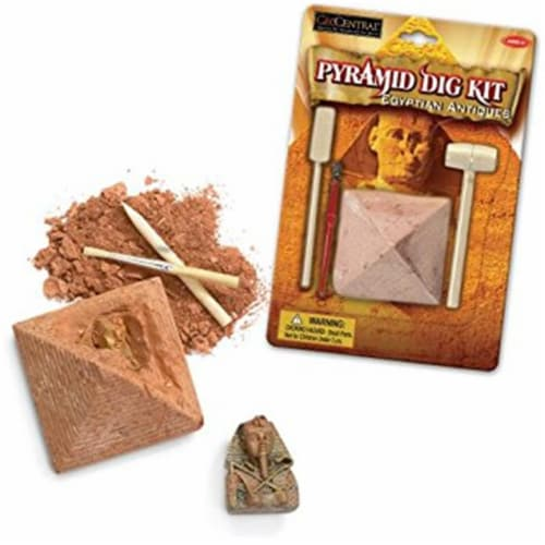 Tedco Toys 90002 Egyptian Pyramid Dig Kit Perspective: front