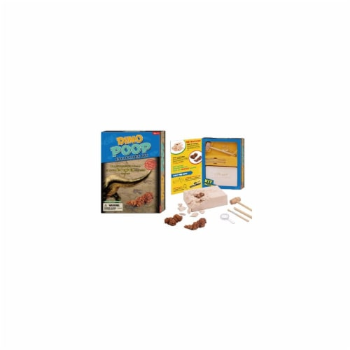Tedco Toys 90044 Dino Poop Dig Excavation Kit Perspective: front