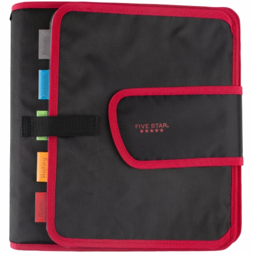 Five Star® 2-Inch Quick Tab Sewn Binder Perspective: front