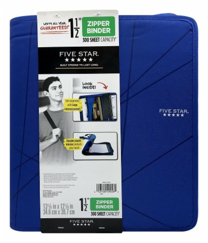 Mead® Five Star Zipper Binder - Assorted Perspective: front