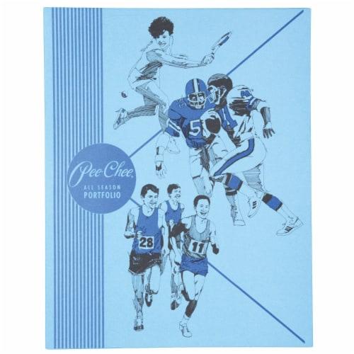 Mead® Color Talk Pee-Chee All Season Portfolio - Blue Perspective: front