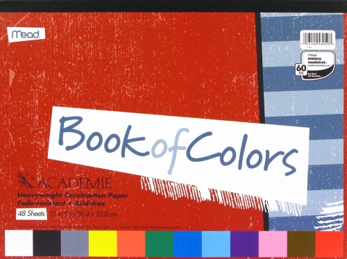 Mead® Book of Colors Construction Paper - 48 pc Perspective: front