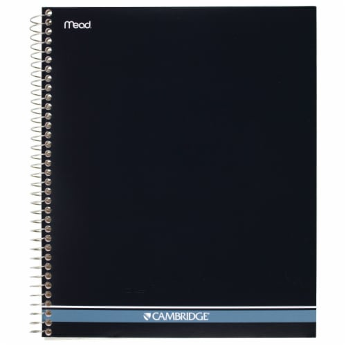 Mead Cambridge Wirebound Notebook - 70 Sheets Perspective: front