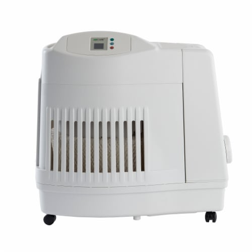 AIRCARE Evaporative Humidifier - White Perspective: front