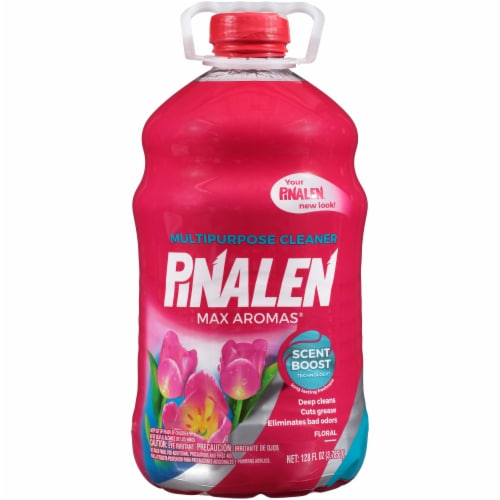Pinalen Max Aromas Floral Multipurpose Cleaner Perspective: front