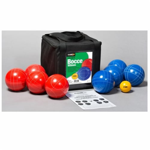 St Pierre Sports SB1 Sport Bocce Set In A Nylon Bag - 100 mm. Perspective: front